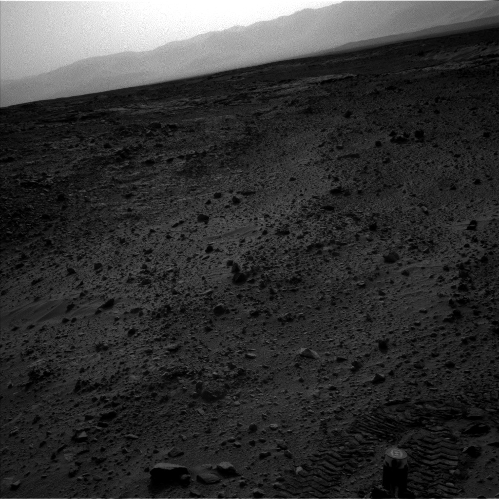 Nasa's Mars rover Curiosity acquired this image using its Left Navigation Camera on Sol 705, at drive 0, site number 40