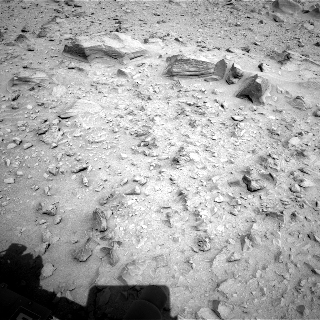 Nasa's Mars rover Curiosity acquired this image using its Right Navigation Camera on Sol 705, at drive 1918, site number 39