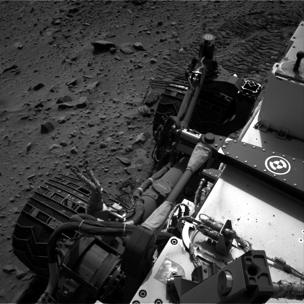 Nasa's Mars rover Curiosity acquired this image using its Right Navigation Camera on Sol 705, at drive 0, site number 40