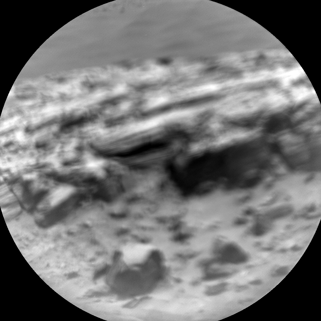 Nasa's Mars rover Curiosity acquired this image using its Chemistry & Camera (ChemCam) on Sol 705, at drive 1888, site number 39