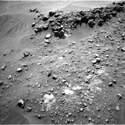 Nasa's Mars rover Curiosity acquired this image using its Left Navigation Camera on Sol 706, at drive 180, site number 40