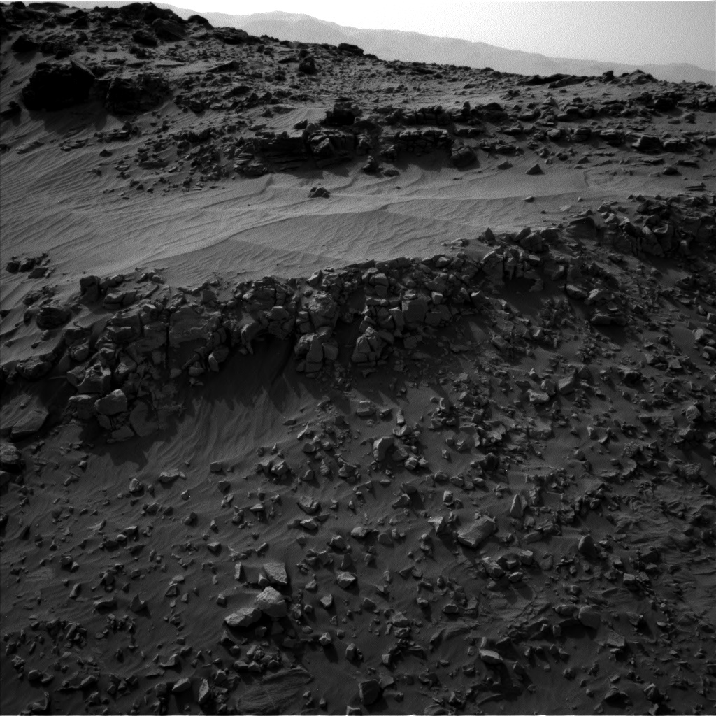 Nasa's Mars rover Curiosity acquired this image using its Left Navigation Camera on Sol 706, at drive 200, site number 40