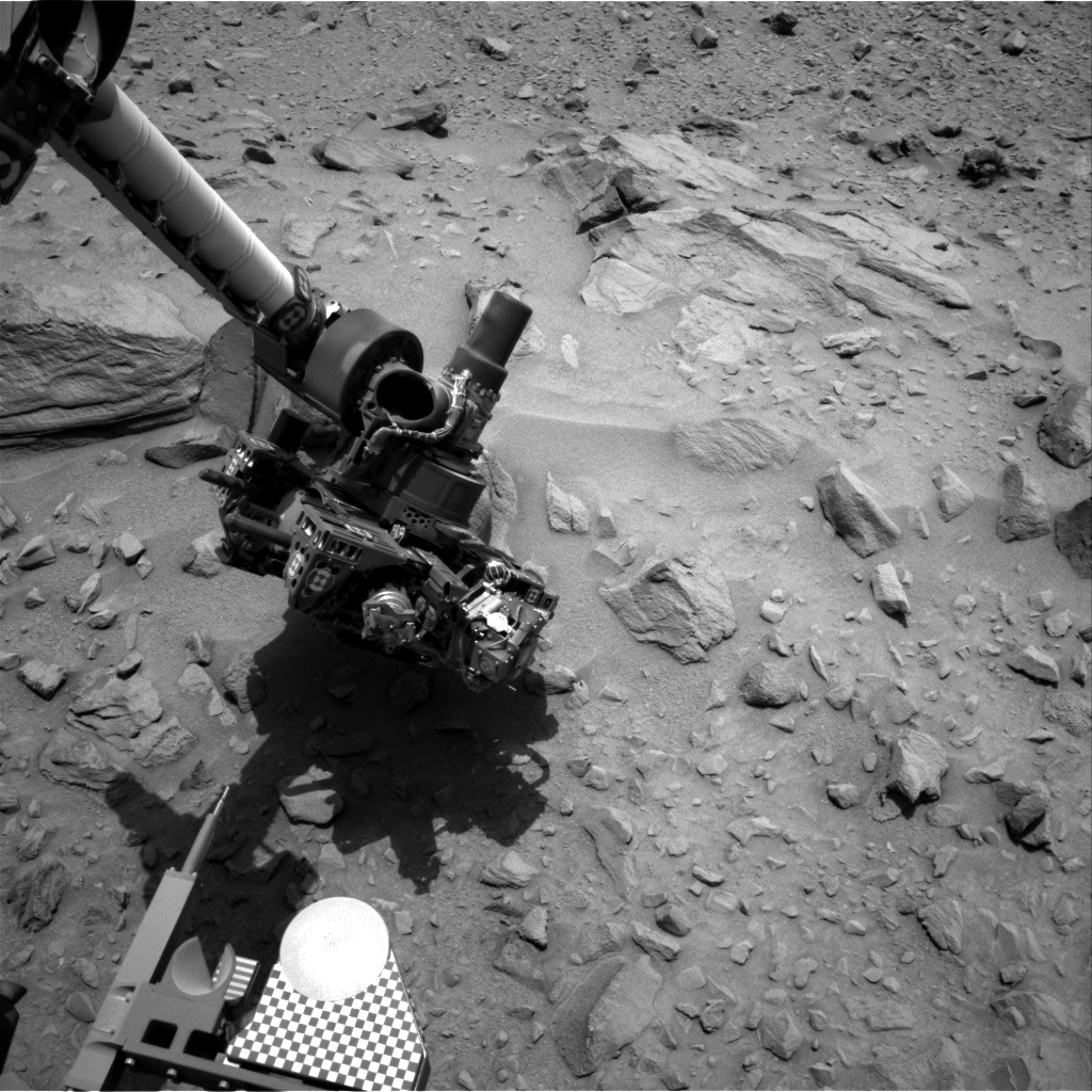 Nasa's Mars rover Curiosity acquired this image using its Right Navigation Camera on Sol 706, at drive 0, site number 40