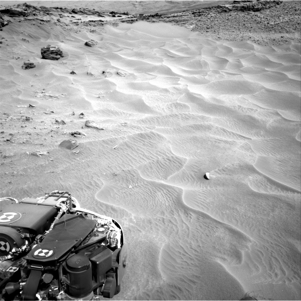 Nasa's Mars rover Curiosity acquired this image using its Right Navigation Camera on Sol 706, at drive 200, site number 40