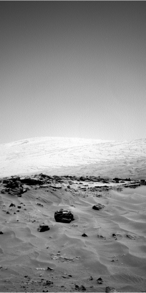 NASA's Mars rover Curiosity acquired this image using its Left Navigation Camera (Navcams) on Sol 707