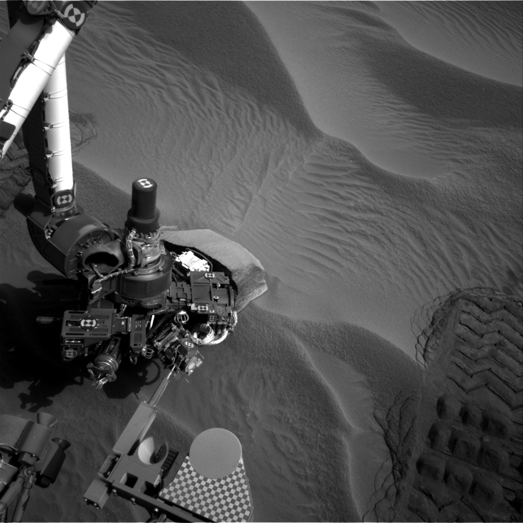 Nasa's Mars rover Curiosity acquired this image using its Right Navigation Camera on Sol 707, at drive 200, site number 40