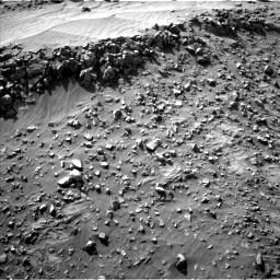 Nasa's Mars rover Curiosity acquired this image using its Left Navigation Camera on Sol 708, at drive 200, site number 40