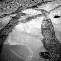 Nasa's Mars rover Curiosity acquired this image using its Left Navigation Camera on Sol 709, at drive 302, site number 40
