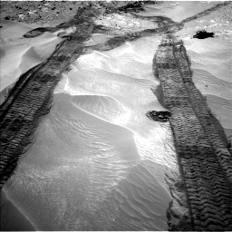 Nasa's Mars rover Curiosity acquired this image using its Left Navigation Camera on Sol 709, at drive 314, site number 40