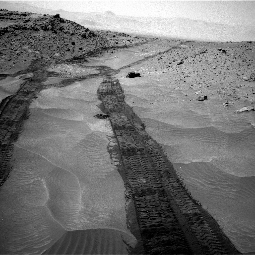 Nasa's Mars rover Curiosity acquired this image using its Left Navigation Camera on Sol 709, at drive 366, site number 40
