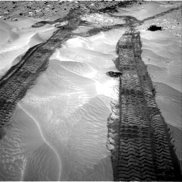 Nasa's Mars rover Curiosity acquired this image using its Right Navigation Camera on Sol 709, at drive 326, site number 40