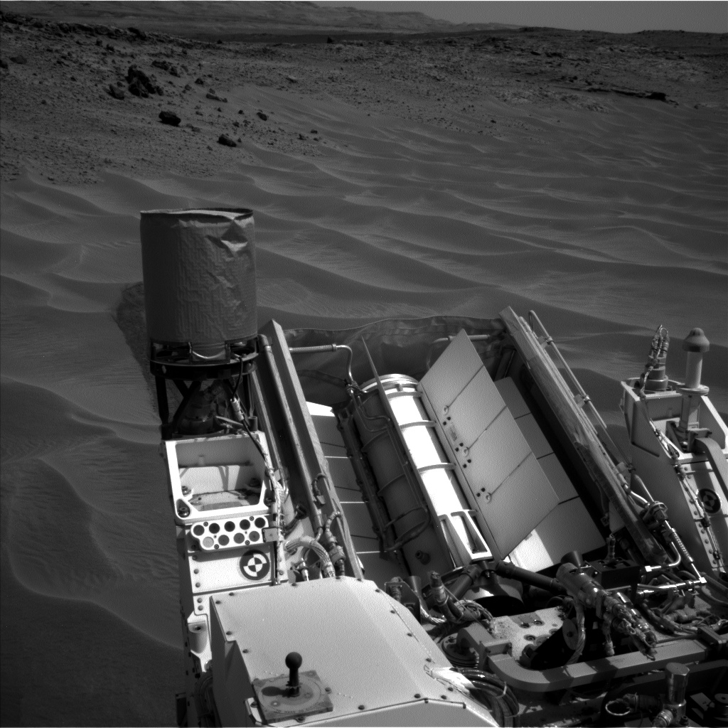 Nasa's Mars rover Curiosity acquired this image using its Left Navigation Camera on Sol 710, at drive 480, site number 40