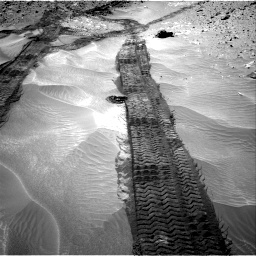 Nasa's Mars rover Curiosity acquired this image using its Right Navigation Camera on Sol 710, at drive 390, site number 40