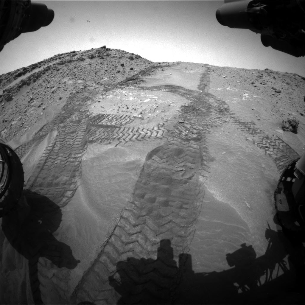 Nasa's Mars rover Curiosity acquired this image using its Front Hazard Avoidance Camera (Front Hazcam) on Sol 711, at drive 534, site number 40