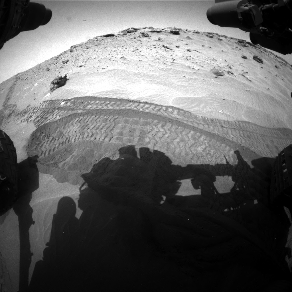 Nasa's Mars rover Curiosity acquired this image using its Front Hazard Avoidance Camera (Front Hazcam) on Sol 711, at drive 540, site number 40