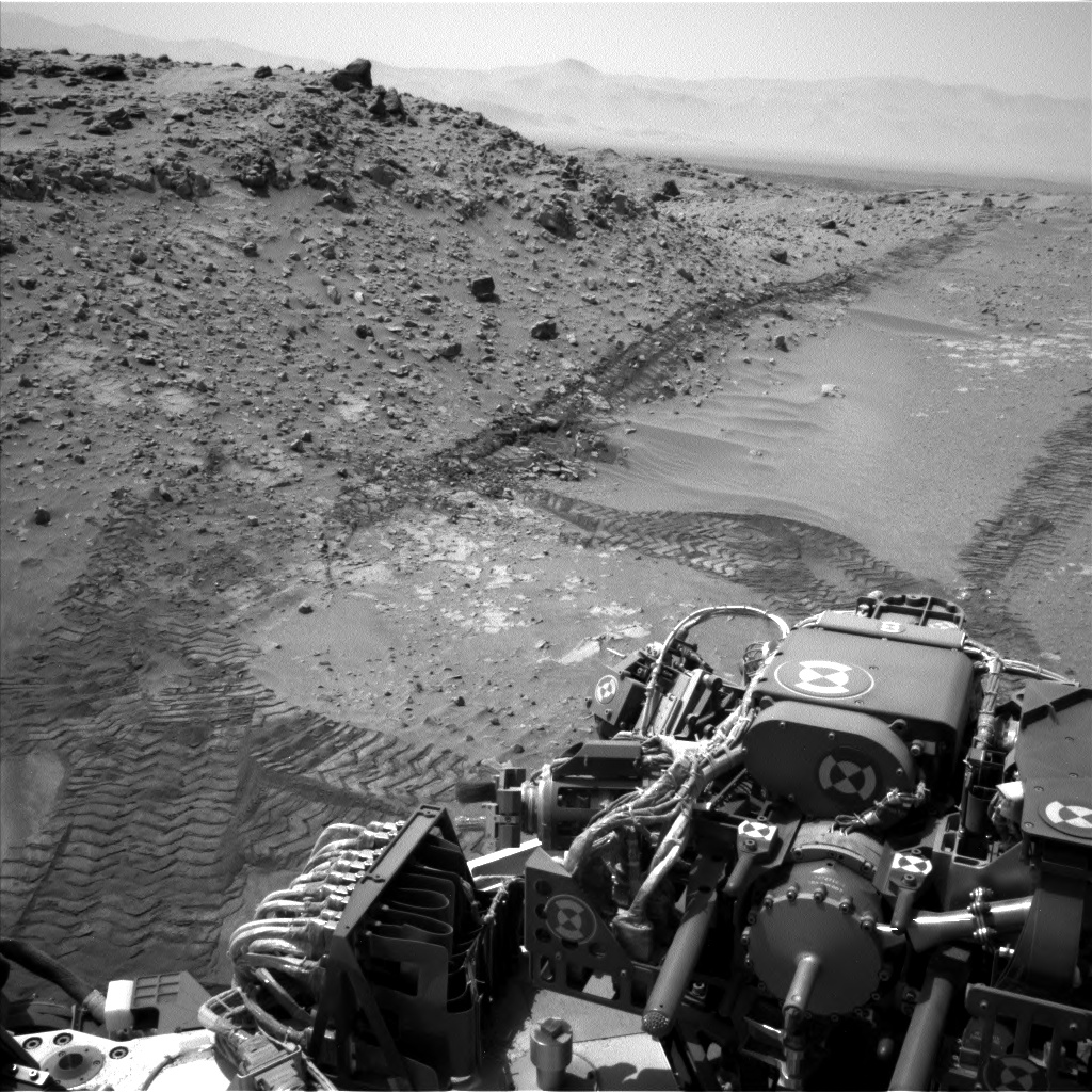 Nasa's Mars rover Curiosity acquired this image using its Left Navigation Camera on Sol 711, at drive 540, site number 40
