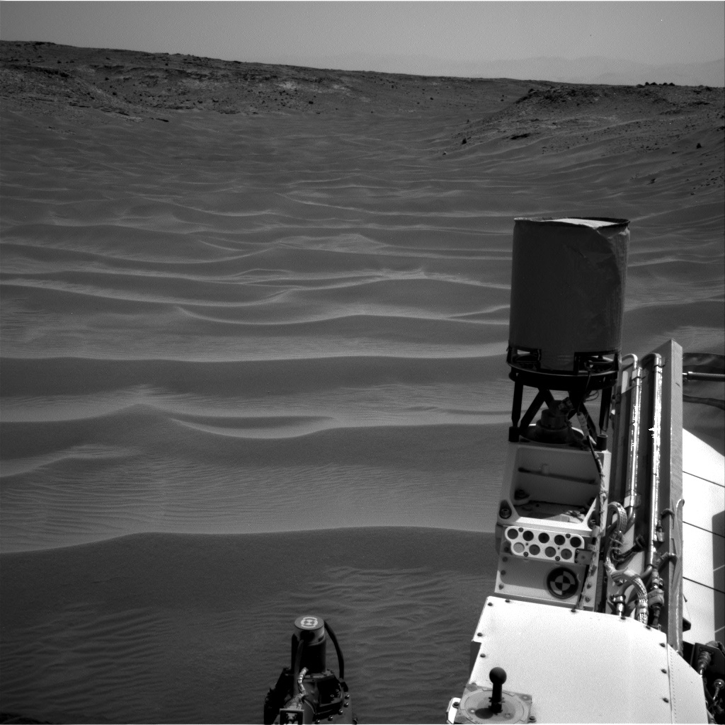 NASA's Mars rover Curiosity acquired this image using its Right Navigation Cameras (Navcams) on Sol 711