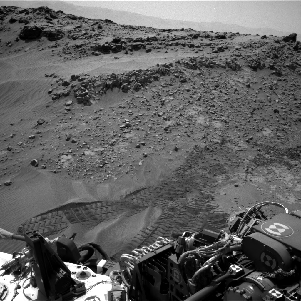 Nasa's Mars rover Curiosity acquired this image using its Right Navigation Camera on Sol 711, at drive 540, site number 40