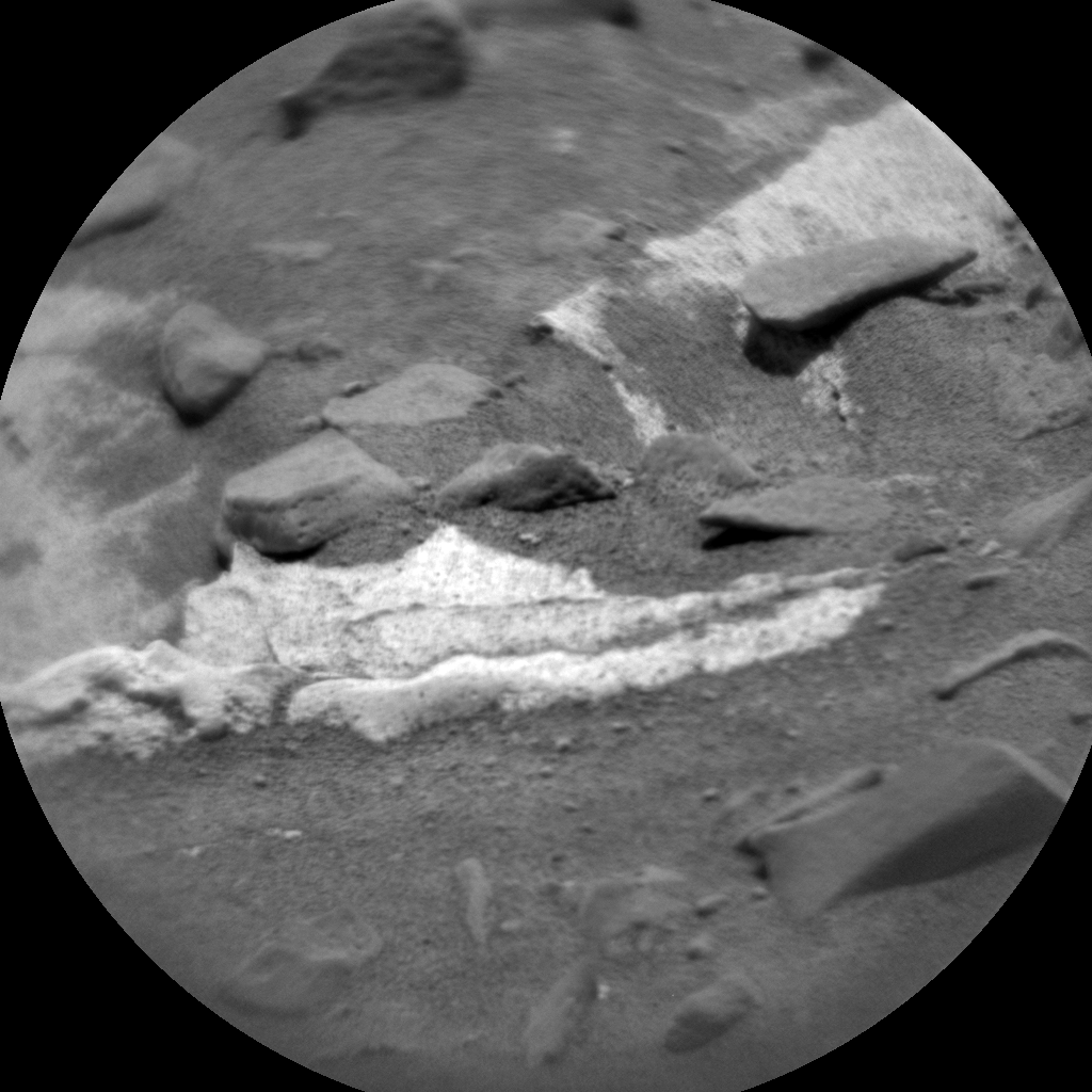 Nasa's Mars rover Curiosity acquired this image using its Chemistry & Camera (ChemCam) on Sol 711, at drive 480, site number 40