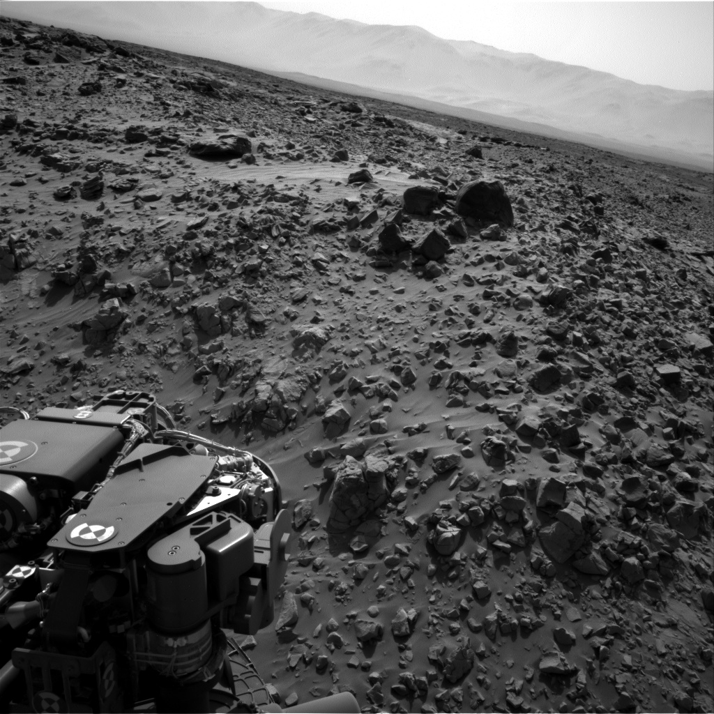 Nasa's Mars rover Curiosity acquired this image using its Right Navigation Camera on Sol 713, at drive 660, site number 40