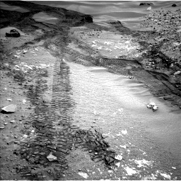 Nasa's Mars rover Curiosity acquired this image using its Left Navigation Camera on Sol 714, at drive 744, site number 40
