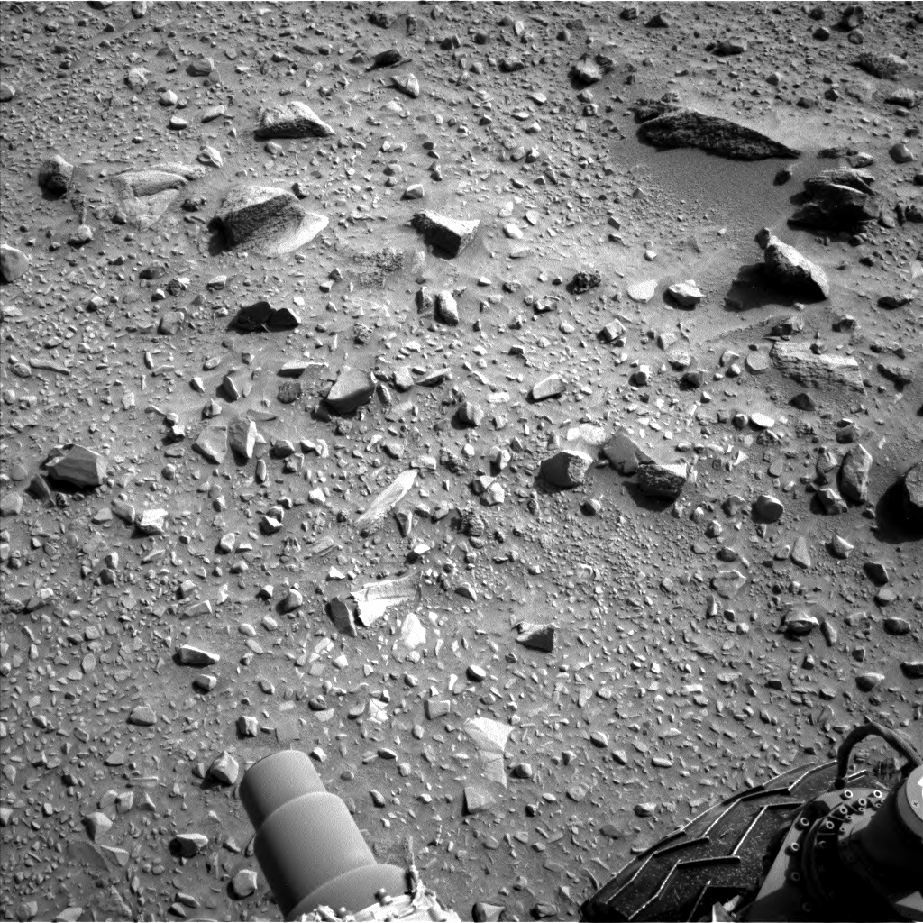 Nasa's Mars rover Curiosity acquired this image using its Left Navigation Camera on Sol 714, at drive 1000, site number 40