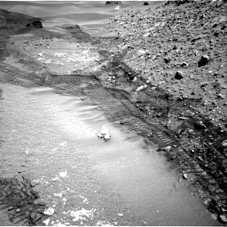 Nasa's Mars rover Curiosity acquired this image using its Right Navigation Camera on Sol 714, at drive 750, site number 40