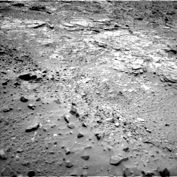Nasa's Mars rover Curiosity acquired this image using its Left Navigation Camera on Sol 717, at drive 1000, site number 40