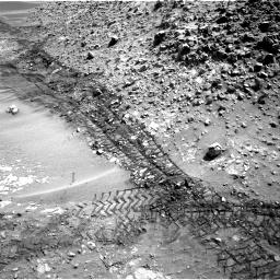 Nasa's Mars rover Curiosity acquired this image using its Right Navigation Camera on Sol 717, at drive 1276, site number 40