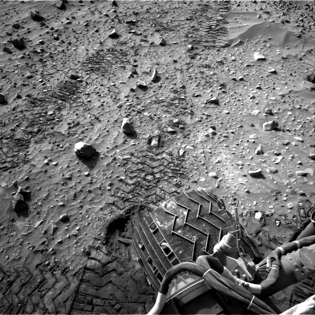 Nasa's Mars rover Curiosity acquired this image using its Right Navigation Camera on Sol 717, at drive 1286, site number 40