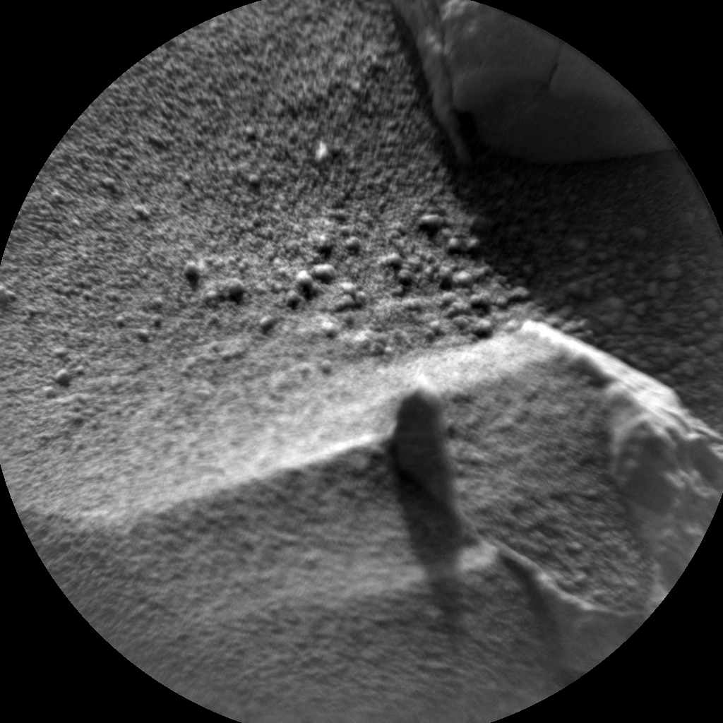 Nasa's Mars rover Curiosity acquired this image using its Chemistry & Camera (ChemCam) on Sol 717, at drive 1286, site number 40