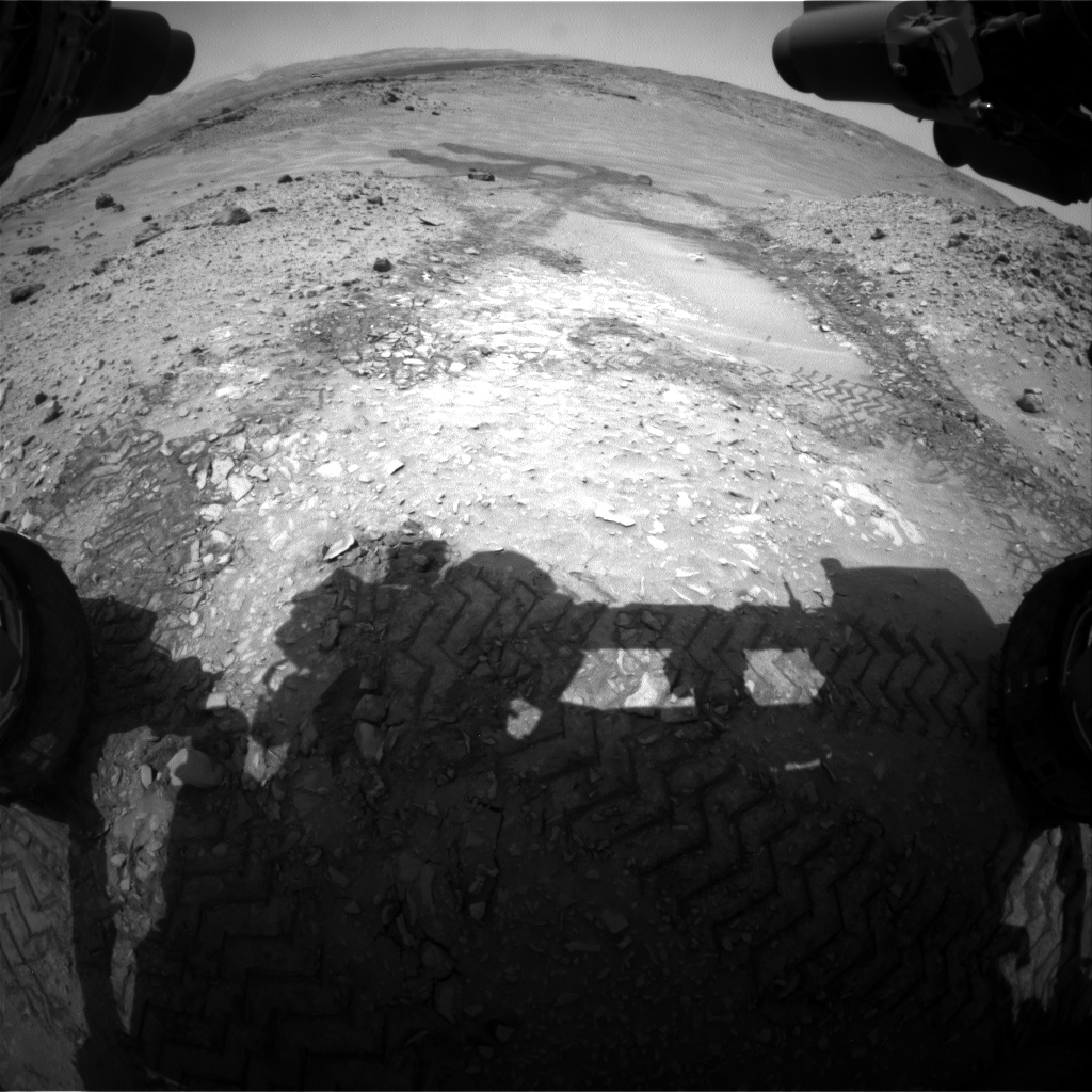 Nasa's Mars rover Curiosity acquired this image using its Front Hazard Avoidance Camera (Front Hazcam) on Sol 718, at drive 1286, site number 40