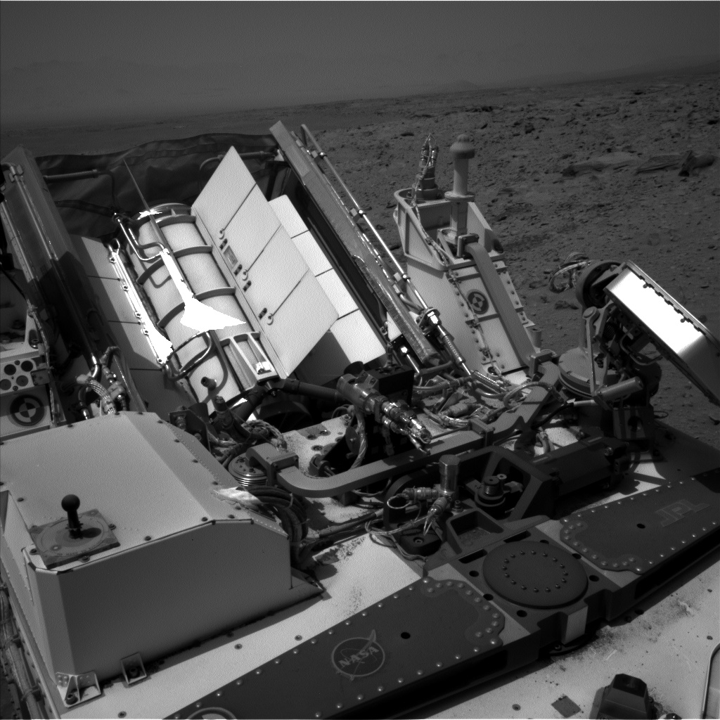 Nasa's Mars rover Curiosity acquired this image using its Left Navigation Camera on Sol 718, at drive 1286, site number 40