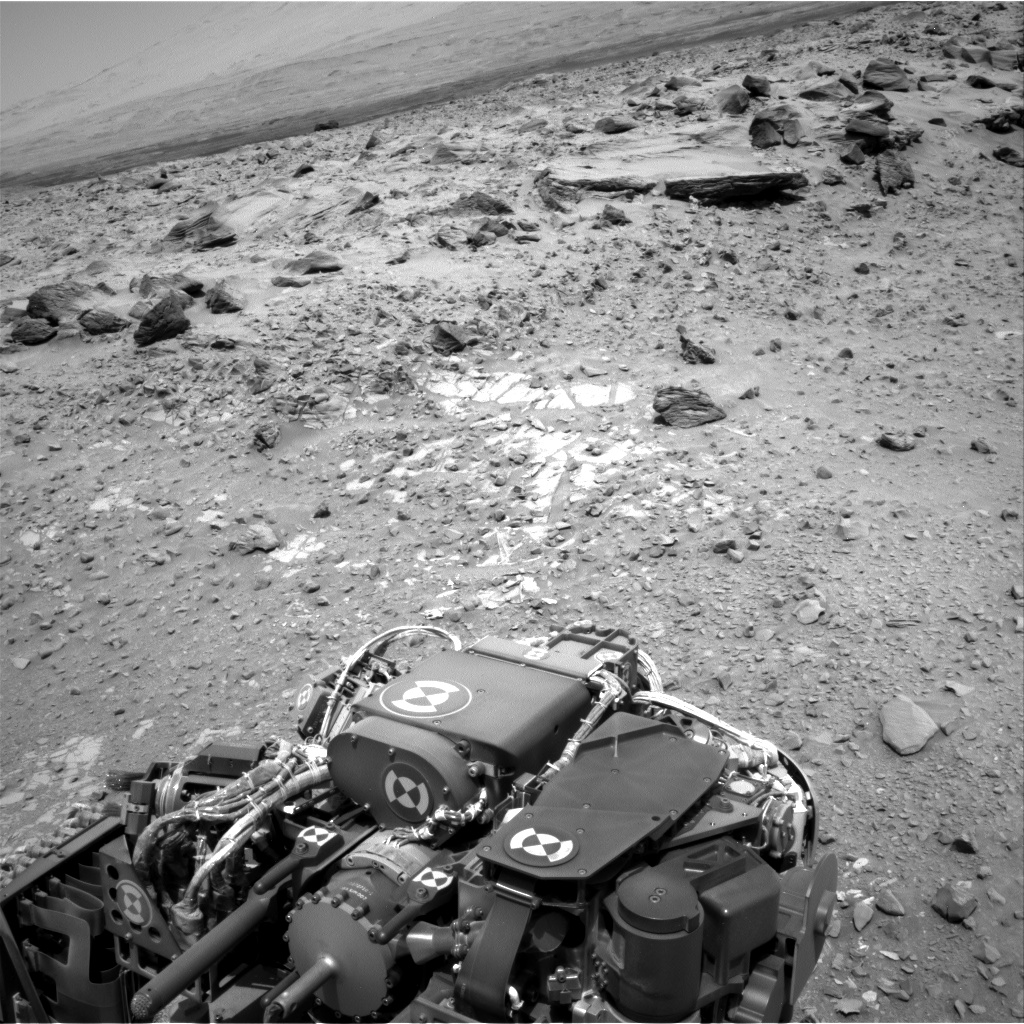 Nasa's Mars rover Curiosity acquired this image using its Right Navigation Camera on Sol 718, at drive 1286, site number 40