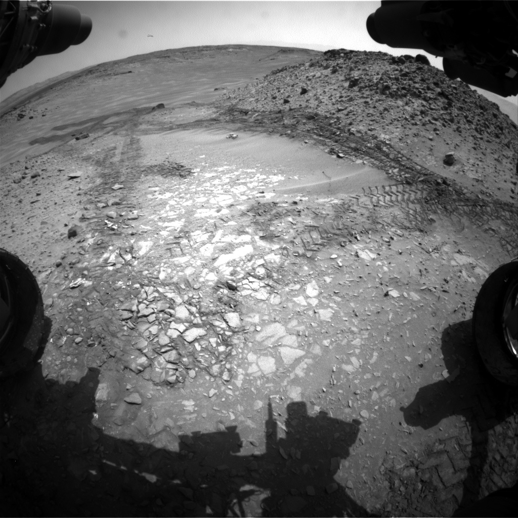 Nasa's Mars rover Curiosity acquired this image using its Front Hazard Avoidance Camera (Front Hazcam) on Sol 719, at drive 1378, site number 40