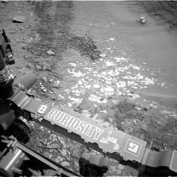 Nasa's Mars rover Curiosity acquired this image using its Left Navigation Camera on Sol 719, at drive 1372, site number 40
