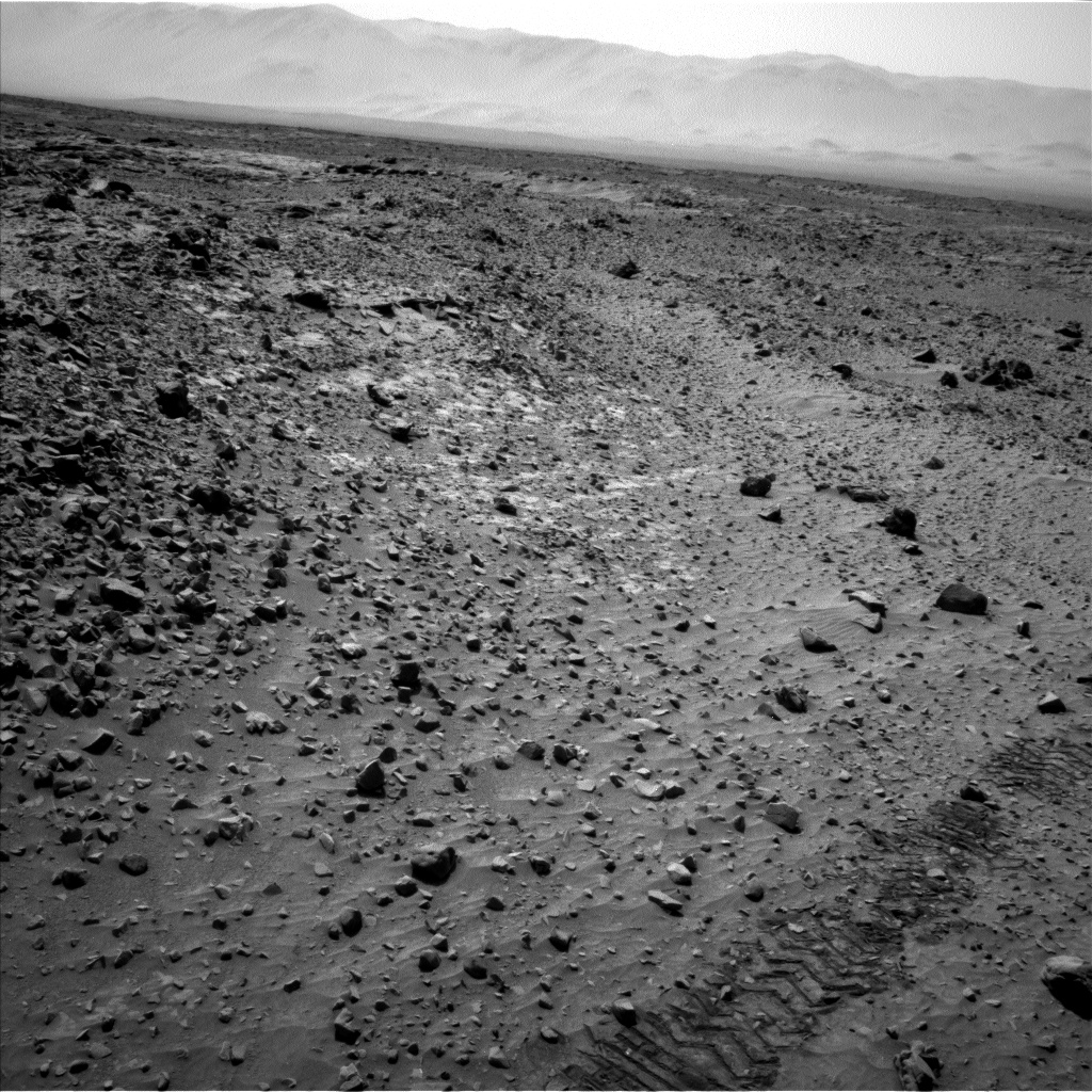 Nasa's Mars rover Curiosity acquired this image using its Left Navigation Camera on Sol 719, at drive 1378, site number 40