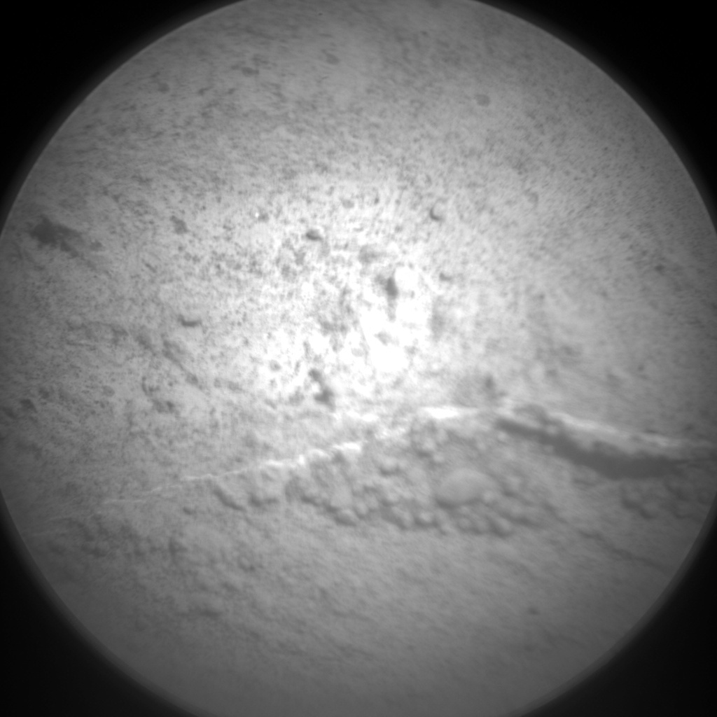 Nasa's Mars rover Curiosity acquired this image using its Chemistry & Camera (ChemCam) on Sol 721, at drive 1378, site number 40