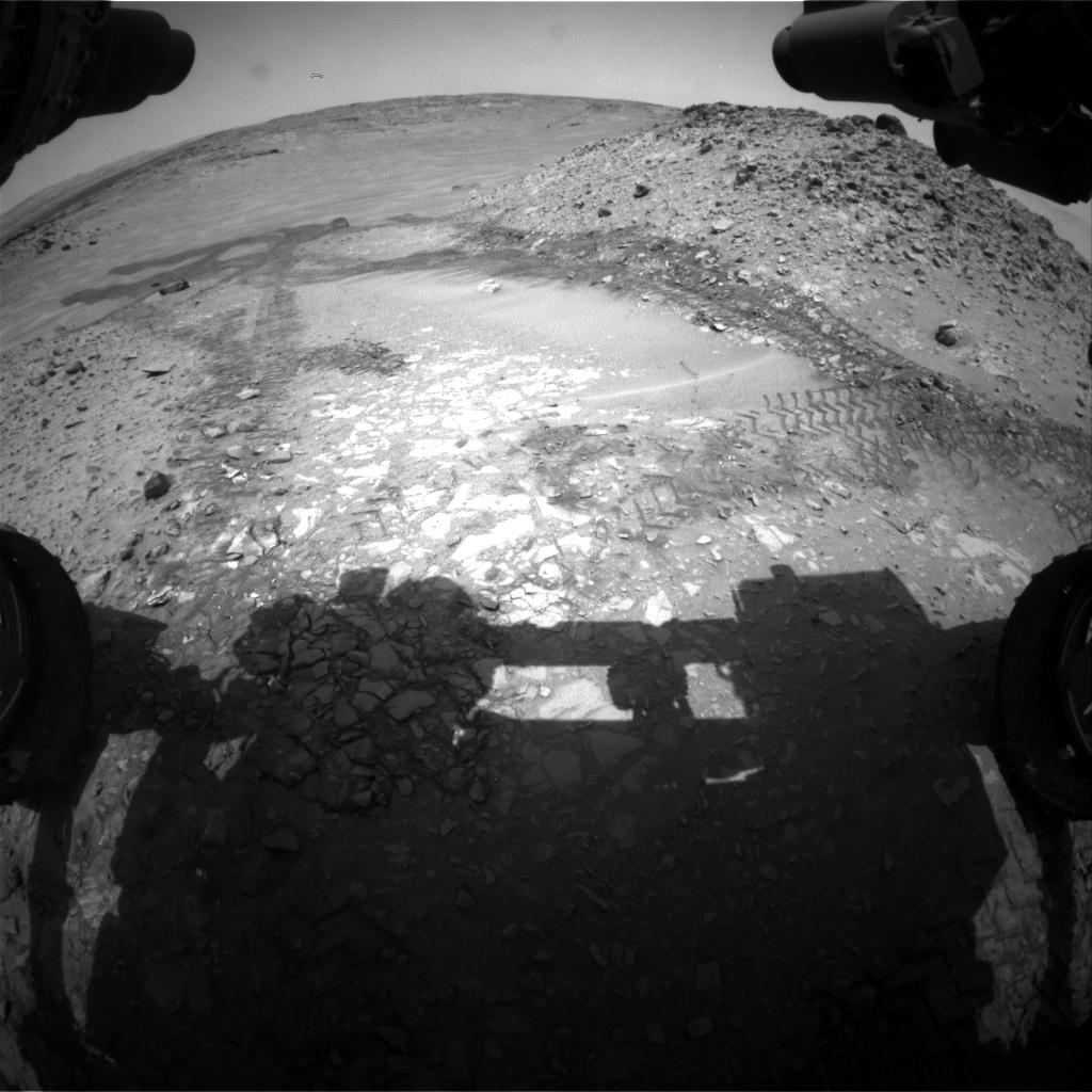 Nasa's Mars rover Curiosity acquired this image using its Front Hazard Avoidance Camera (Front Hazcam) on Sol 721, at drive 1378, site number 40