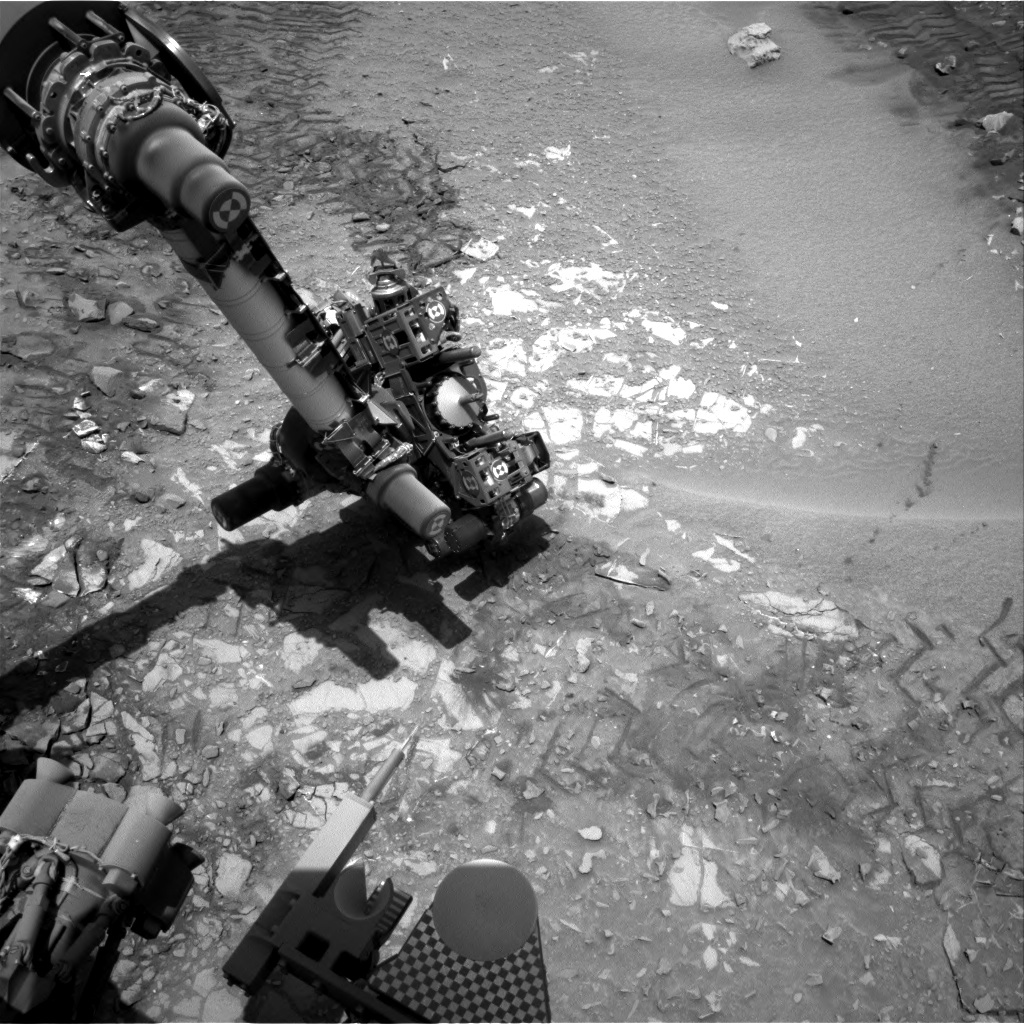 Nasa's Mars rover Curiosity acquired this image using its Right Navigation Camera on Sol 722, at drive 1378, site number 40