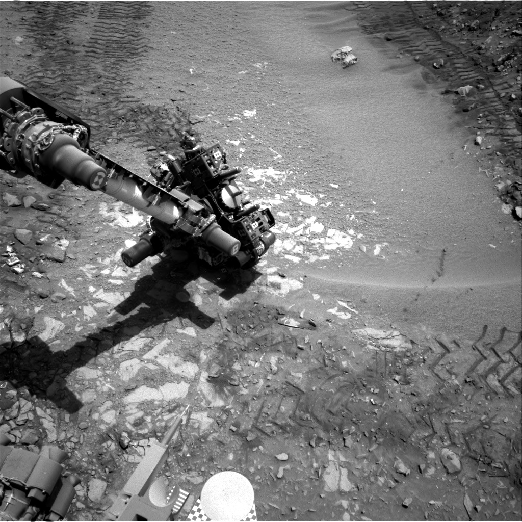 Nasa's Mars rover Curiosity acquired this image using its Right Navigation Camera on Sol 724, at drive 1378, site number 40