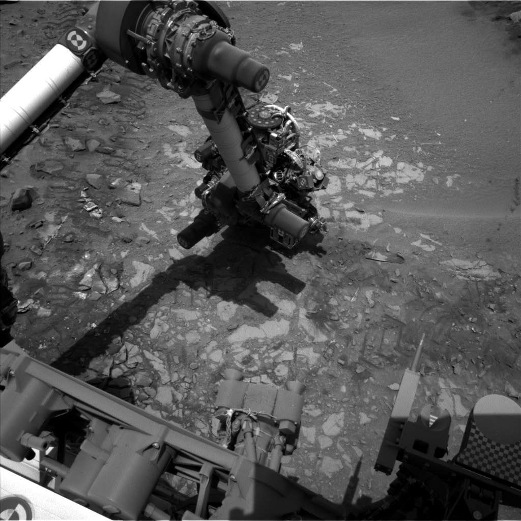 Nasa's Mars rover Curiosity acquired this image using its Left Navigation Camera on Sol 726, at drive 1378, site number 40