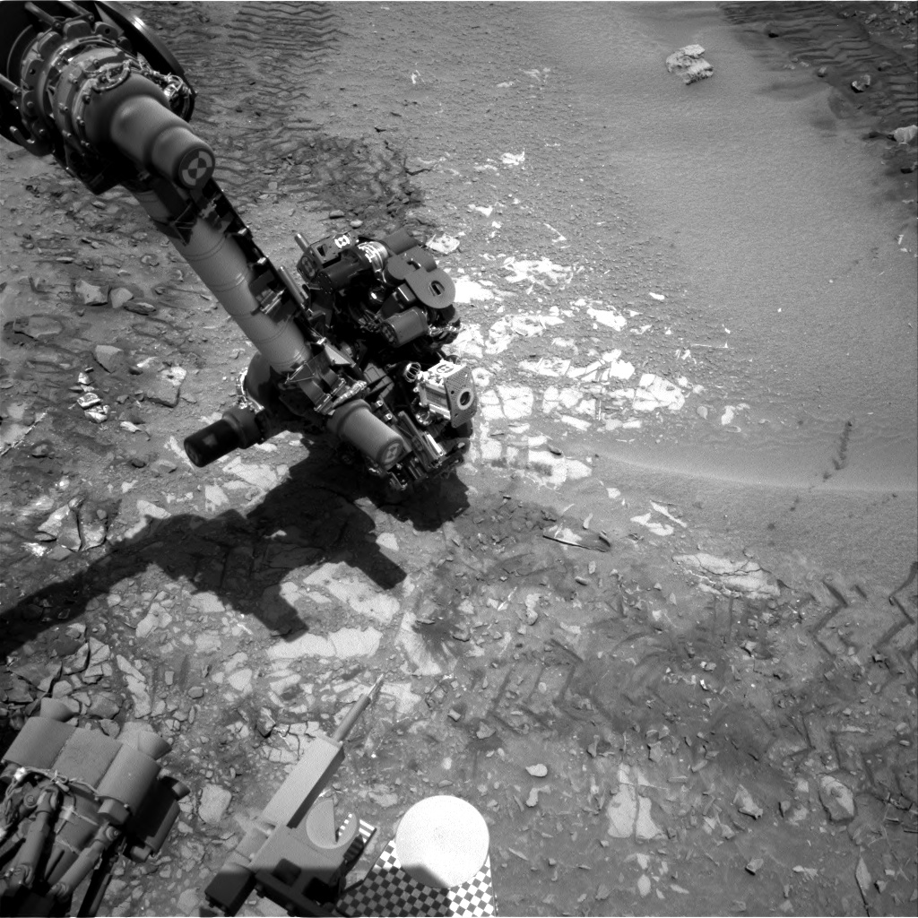 Nasa's Mars rover Curiosity acquired this image using its Right Navigation Camera on Sol 726, at drive 1378, site number 40