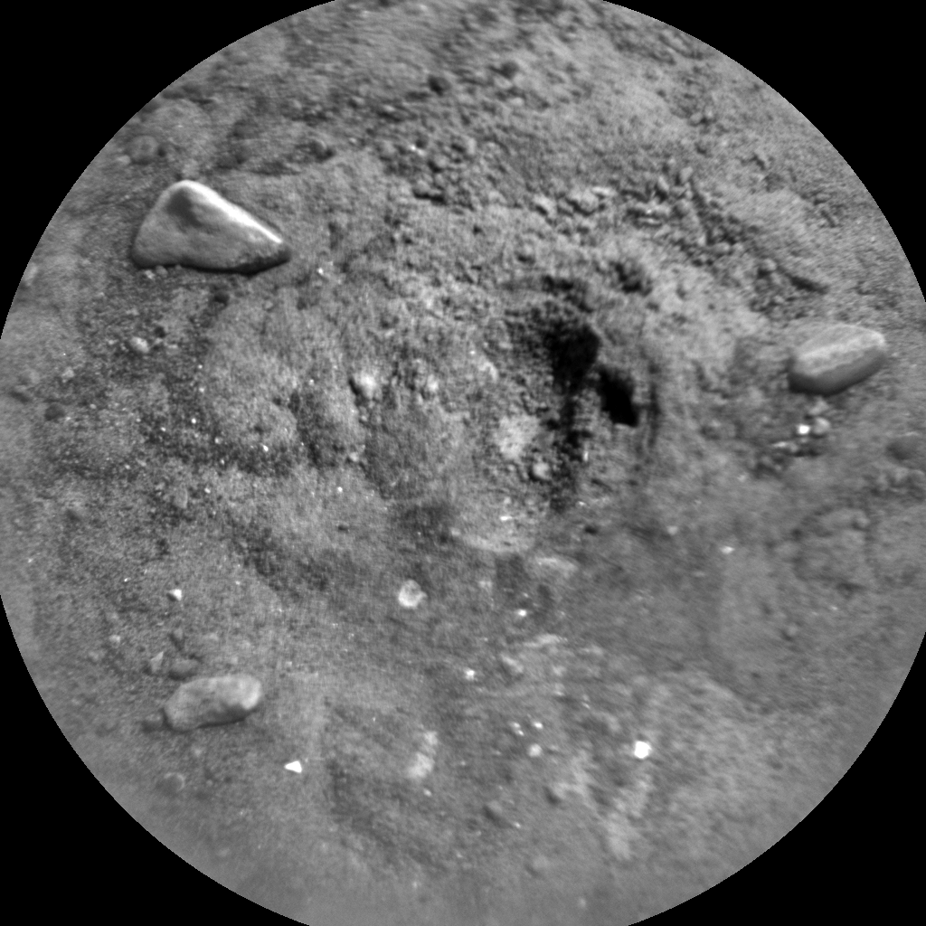 Nasa's Mars rover Curiosity acquired this image using its Chemistry & Camera (ChemCam) on Sol 726, at drive 1378, site number 40