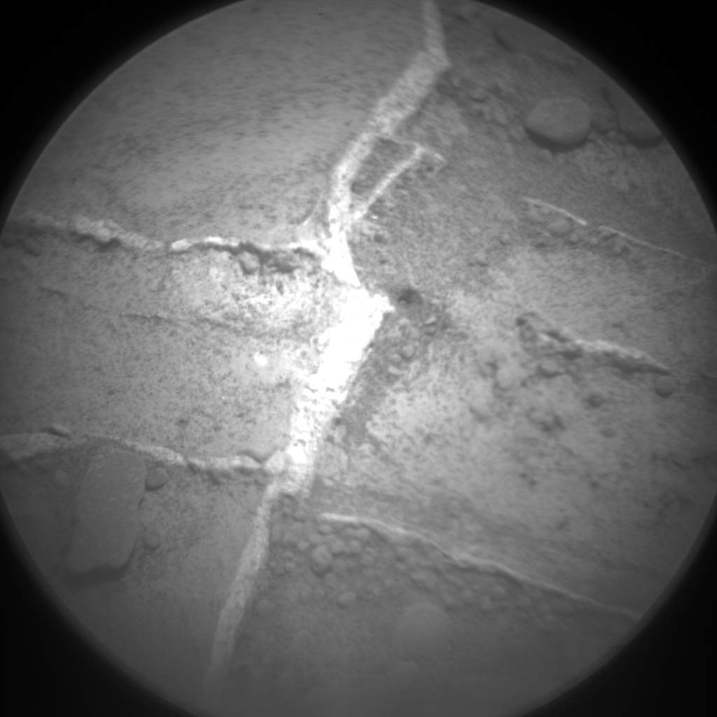 Nasa's Mars rover Curiosity acquired this image using its Chemistry & Camera (ChemCam) on Sol 727, at drive 1378, site number 40