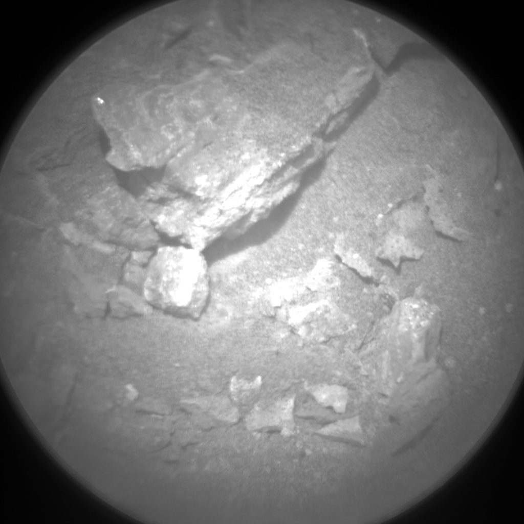 Nasa's Mars rover Curiosity acquired this image using its Chemistry & Camera (ChemCam) on Sol 728, at drive 1378, site number 40