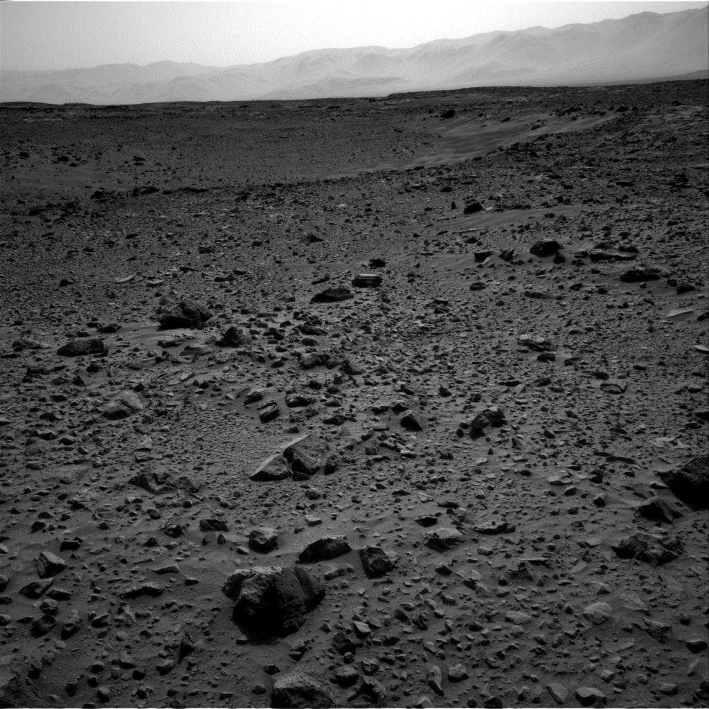 NASA's Mars rover Curiosity acquired this image using its Right Navigation Cameras (Navcams) on Sol 729