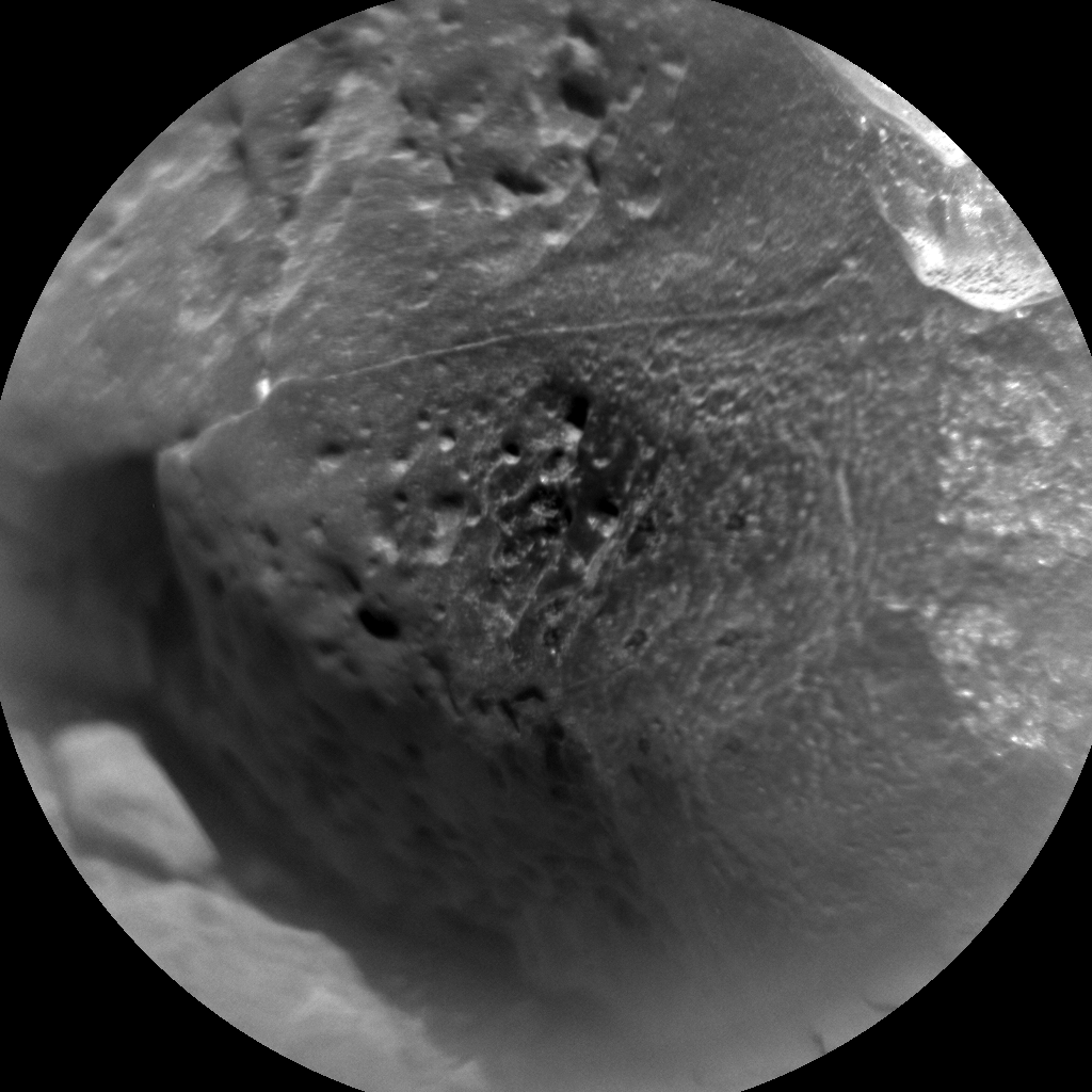Nasa's Mars rover Curiosity acquired this image using its Chemistry & Camera (ChemCam) on Sol 731, at drive 1850, site number 40