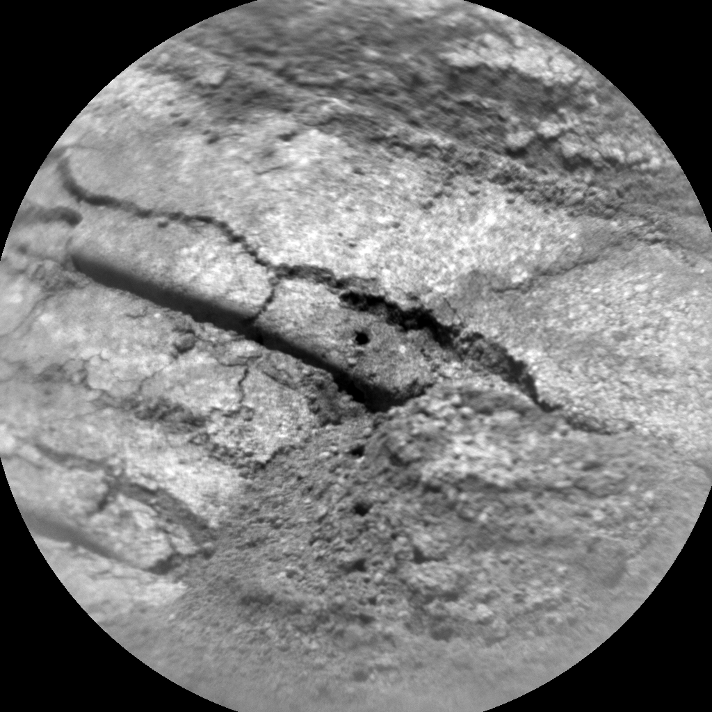 Nasa's Mars rover Curiosity acquired this image using its Chemistry & Camera (ChemCam) on Sol 732, at drive 2040, site number 40