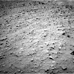 NASA's Mars rover Curiosity acquired this image using its Left Navigation Camera (Navcams) on Sol 733